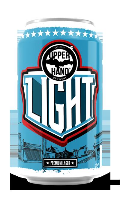 Upper Hand Light Lager