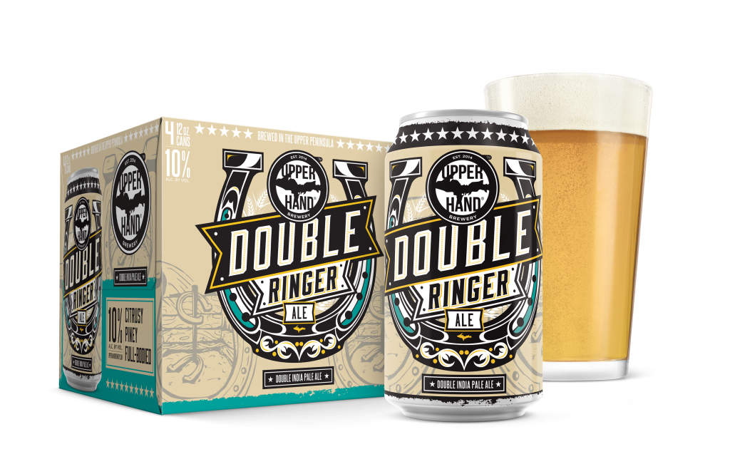 DoubleRinger Can&4Pack&Glass
