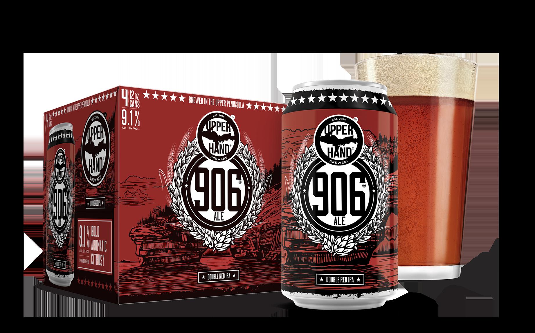 906 Ale Brand Rendering