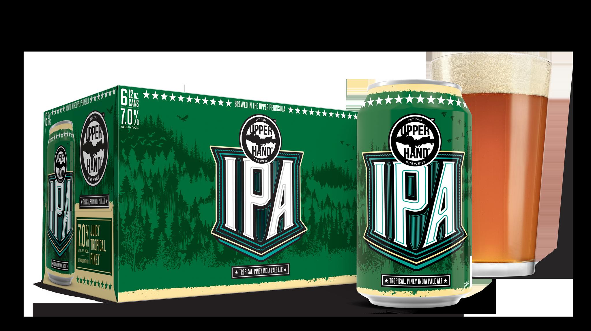 Upper Hand<span class='trade'>®</span> IPA Brand Rendering