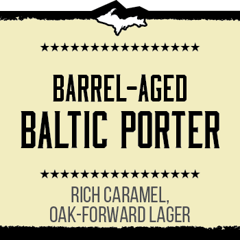 Barrel-Aged Baltic Porter Brand Rendering