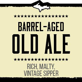 Barrel-Aged Old Ale Brand Rendering