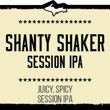 Shanty Shaker Session IPA Brand Rendering