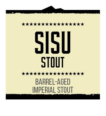 SISU Stout Brand Rendering