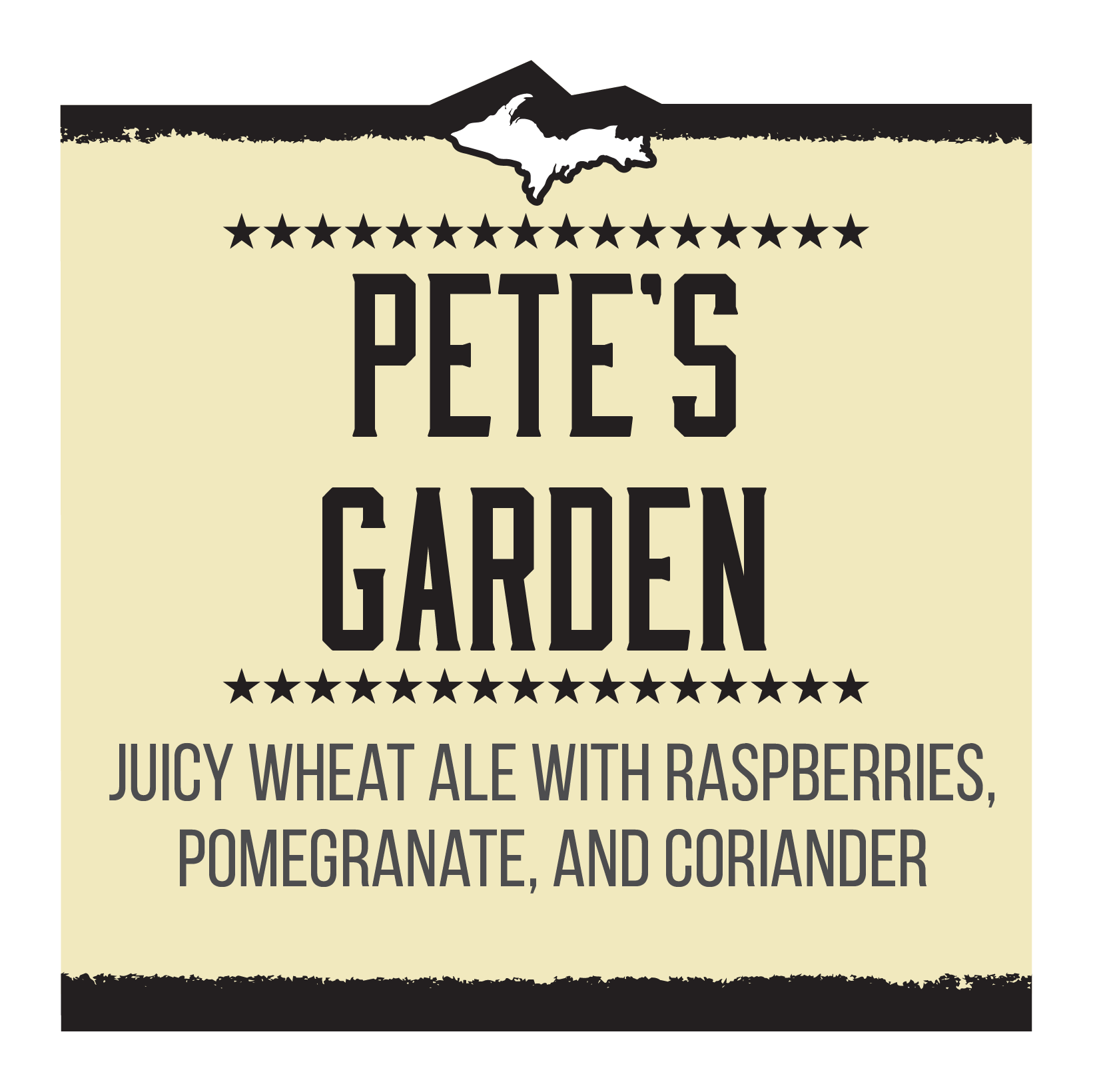 Pete's Garden – Homebrew Competition Winner Brand Rendering
