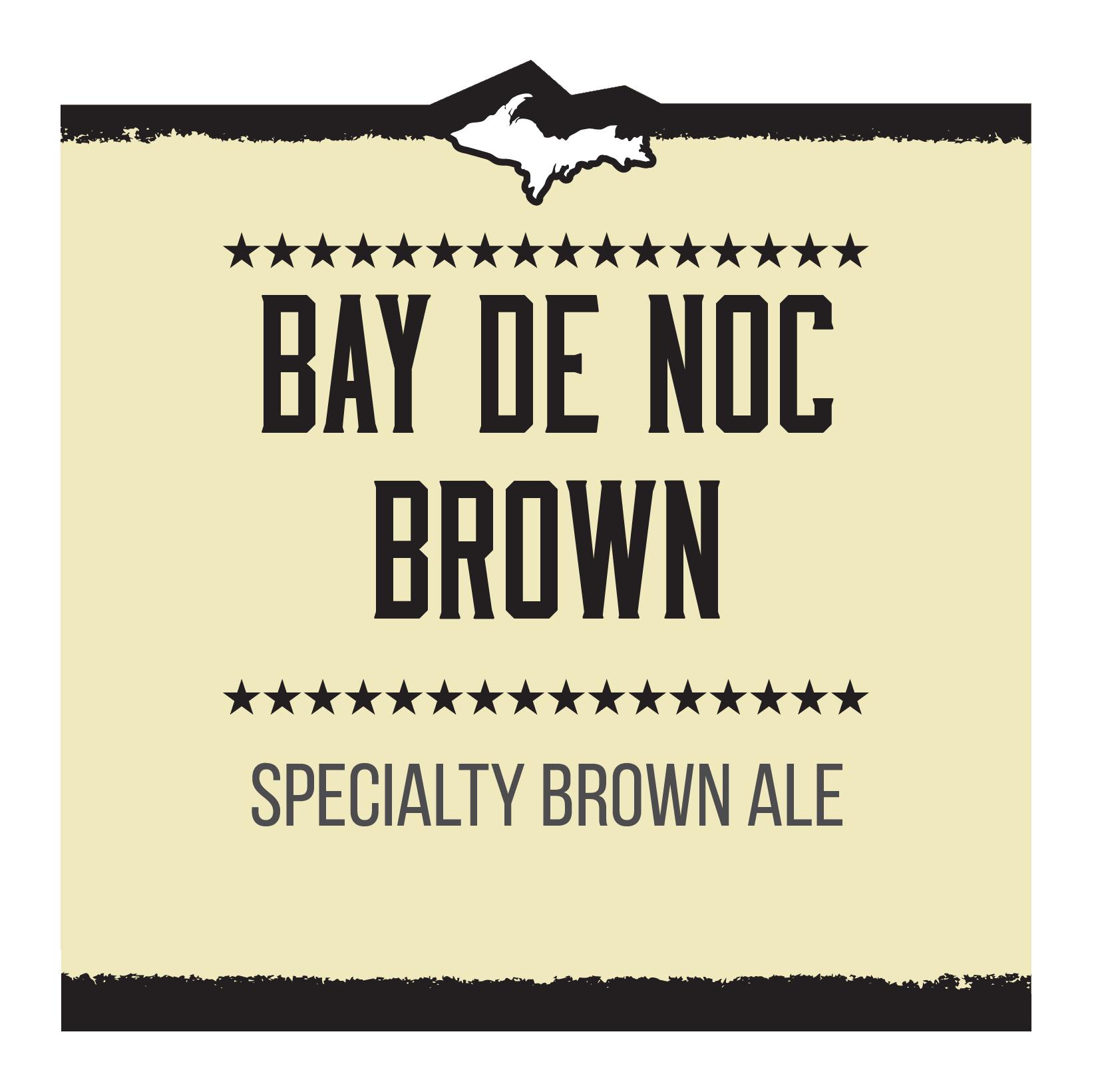 Bay de Noc Brown Brand Rendering