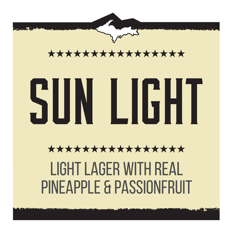 Sun Light Brand Rendering