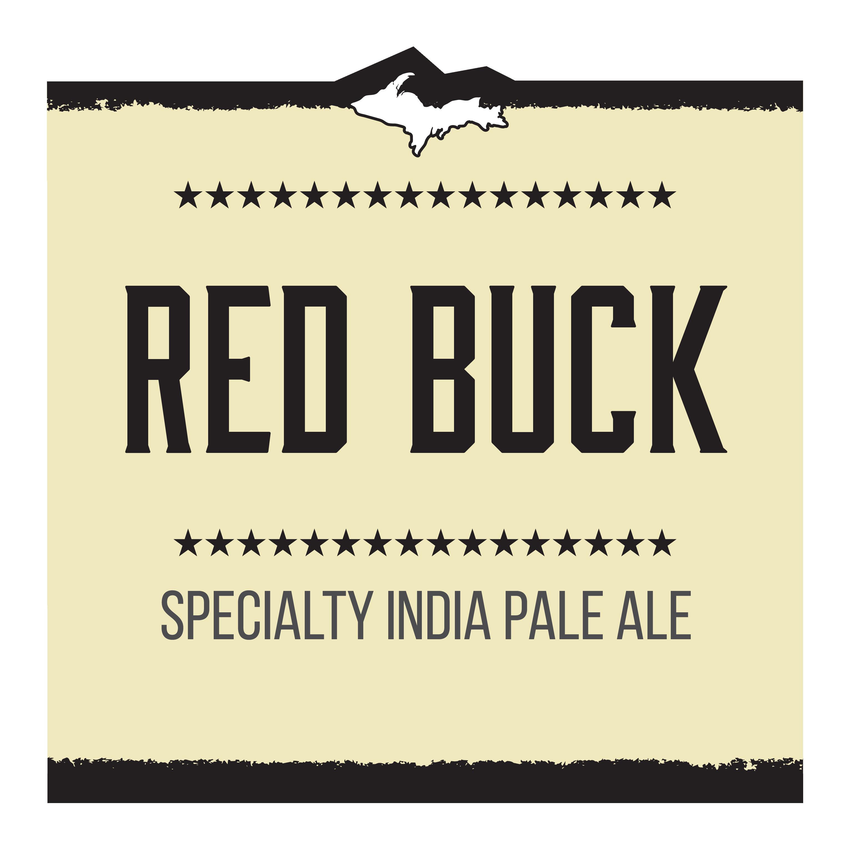 Red Buck IPA Brand Rendering