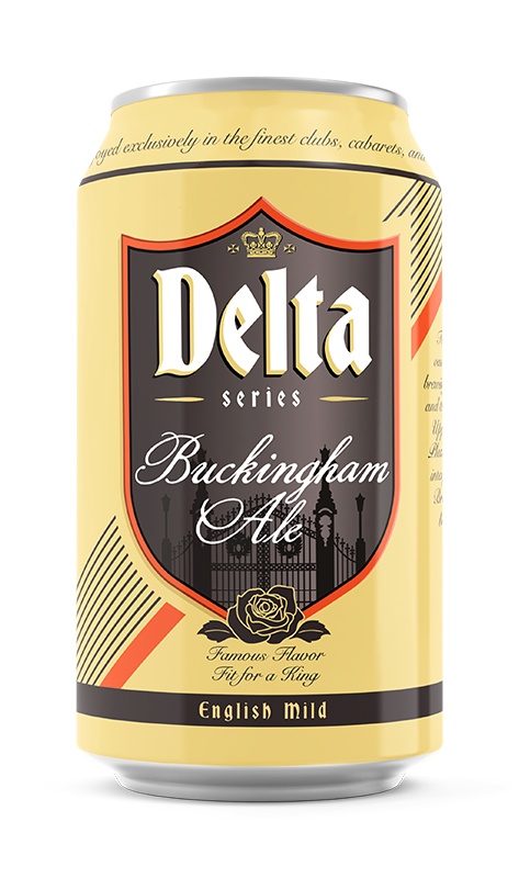 Buckingham Ale Brand Rendering