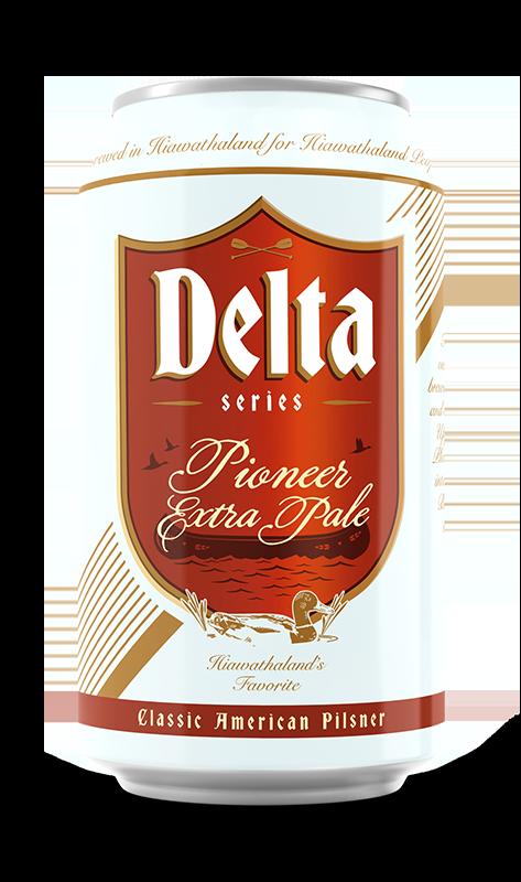 Pioneer Extra Pale Brand Rendering