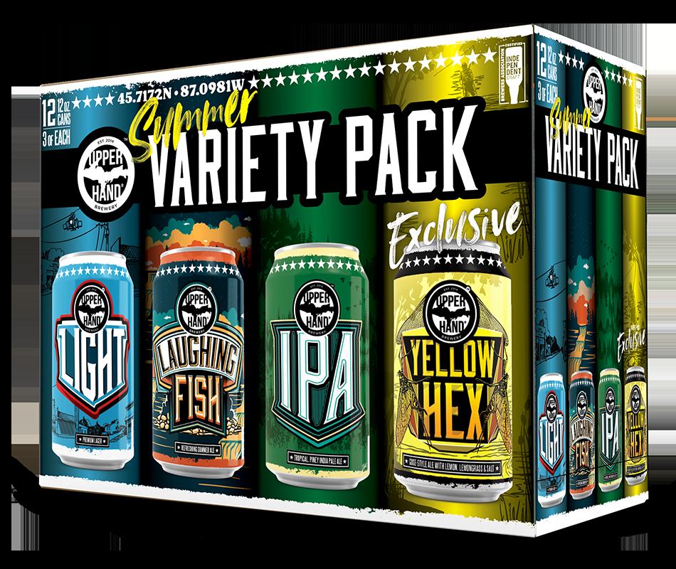 Summer Variety Pack Brand Rendering