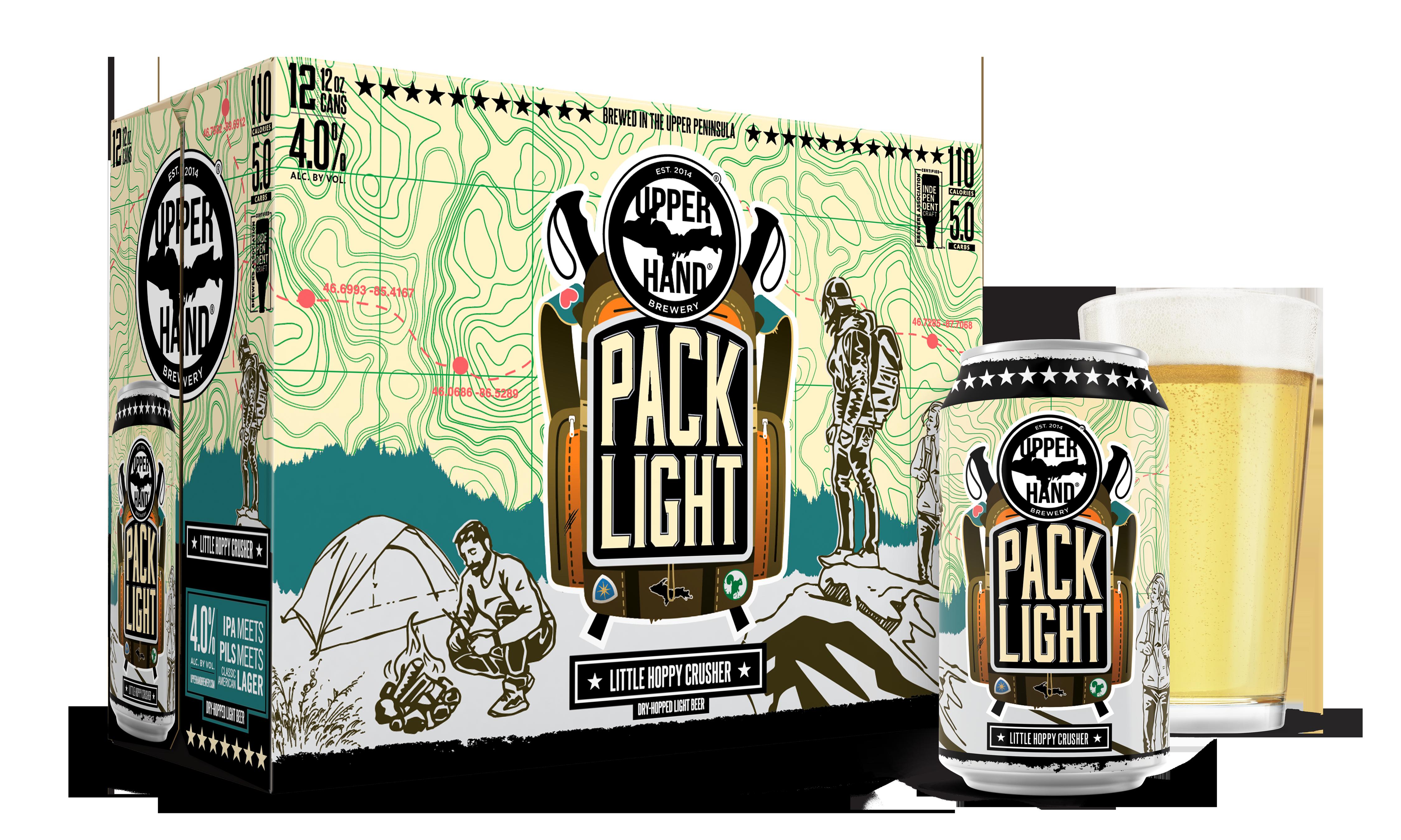 Pack Light Brand Rendering